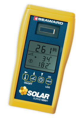 Solar Survey 100 / 200R Multifunction irradiance meter