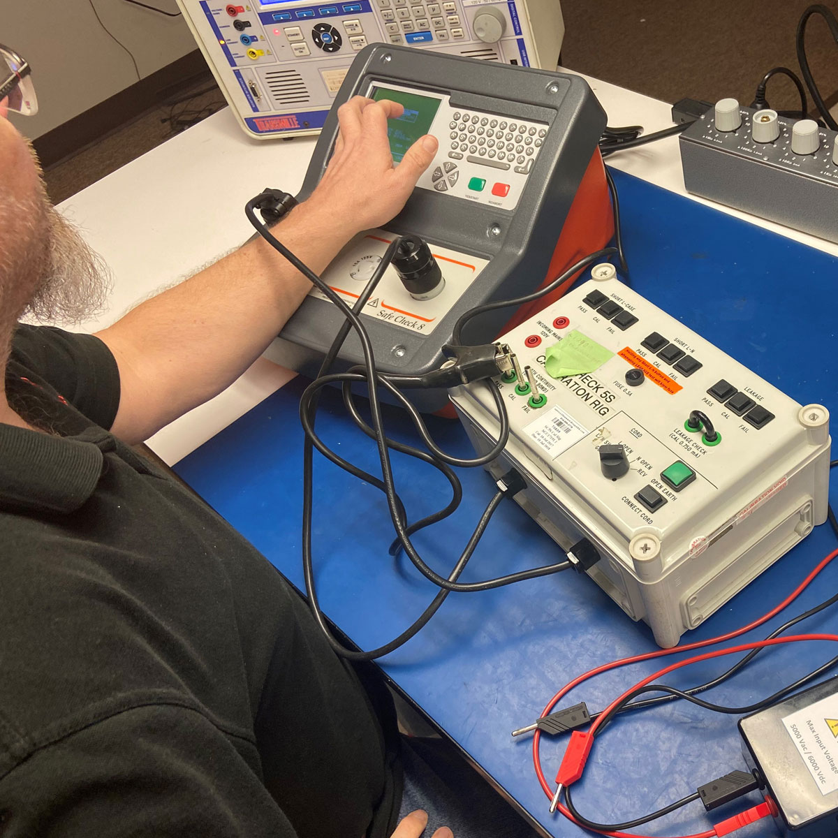 Clare Instruments Tester Calibration