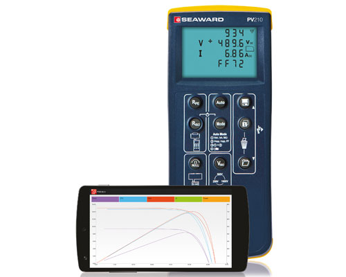 PV210 Solar PV Tester with I-V Curve Tracing