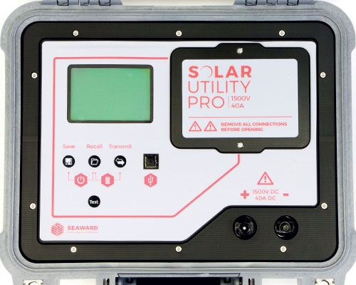 Solar Utility Pro 1500V 40A String Checker Top Down Up Close