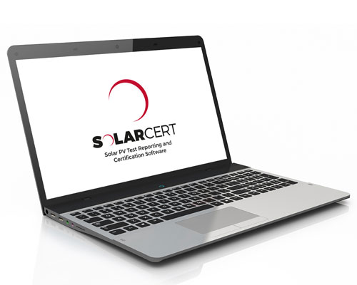 SolarCert Solar PV Reporting Software