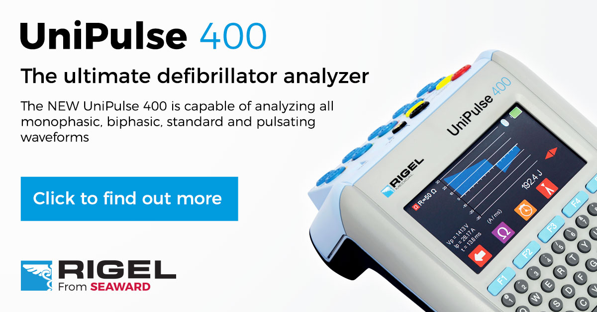 The UniPulse 400 Defibrillator Analyzer with Pacer from