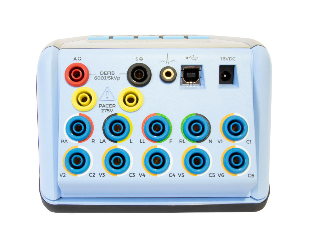 UniPulse 400 Defibrillator Analyzer Ports