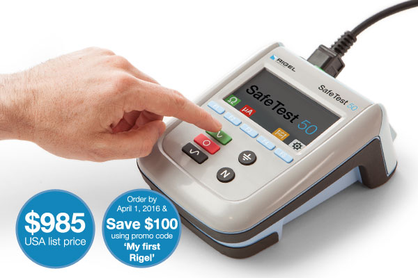 Rigel SafeTest 50 Electrical Safety Analyzer