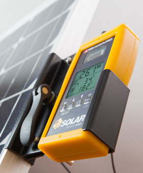 Solar Survey Irradiance Meter Mounting Bracket