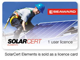SolarCert Elements v2 PV Testing Software